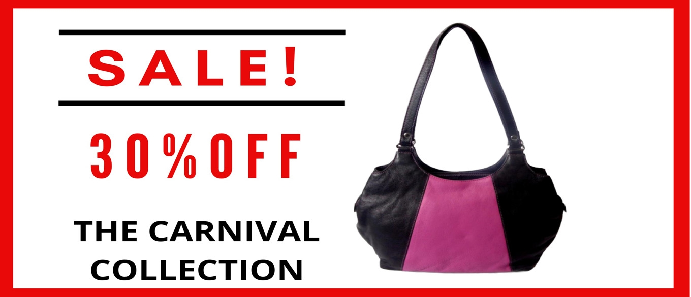 30% OFF CARNIVAL LEATHER