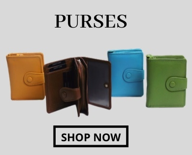 Real Leather Purses