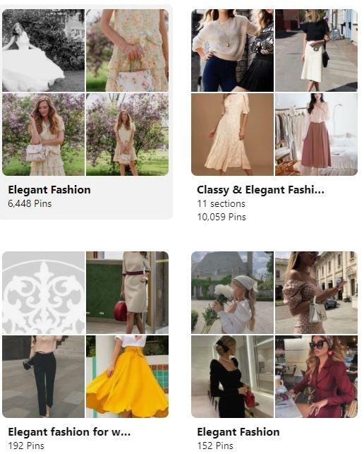 elegant fashion trends