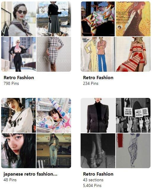 retro fashion trends