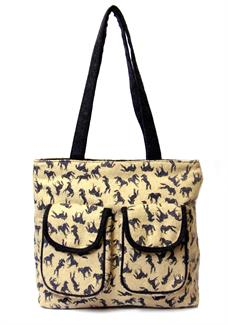 Horses shopper bag