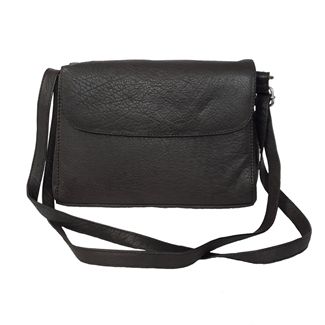leather across body organiser bag