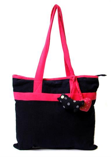 I Love cord shopper Bag