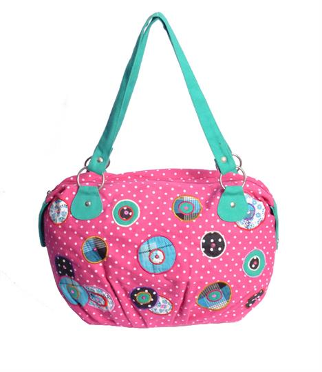 On target polka dot hobo bag